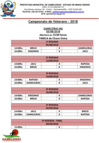 Tabela Campeonato-1